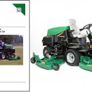 Ransomes Jacobsen HR 6010 Riding Lawn Mower Service Manual on a CD - HR6010
