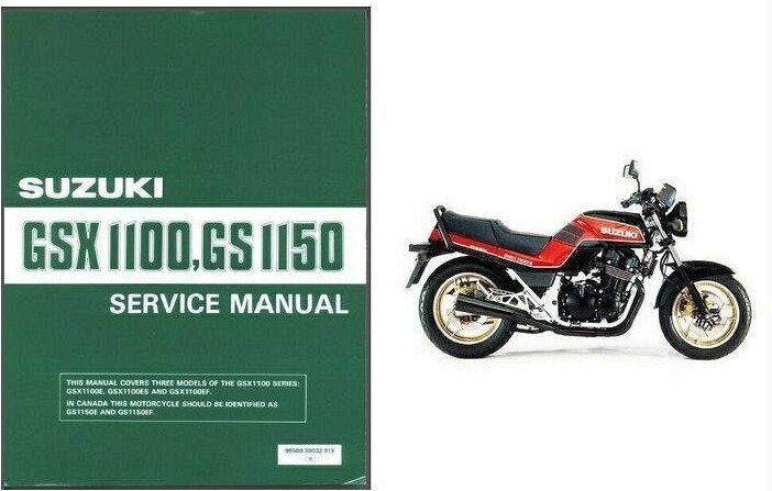 1984-1985-1986 Suzuki GSX1100E / GS1150E Service Manual on a CD