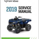 2019 Textron Off Road (Arctic Cat) Alterra 570 / Alterra 700 ATV Service Manual CD