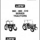 Long 360 460 510 Tractor Service Repair Manual CD