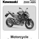 2013-2014-2015 Kawasaki Z800 ABS Service Repair Manual on a CD - Z 800