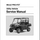 Kawasaki MULE PRO-FXT ( KAF820AF/BF/CF/DF ) UTV Service Repair Manual on a CD