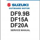 2012-2016 Suzuki DF9.9B DF15A DF20A Outboard Motor Service Repair Manual CD