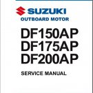Suzuki DF150AP / DF175AP / DF200AP Outboard Motor Service Repair Manual CD