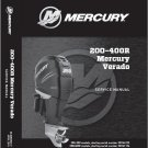 Mercury Verado L6 ( 200 225 250 275 300 350 400R ) Outboard Motors Service Manual CD
