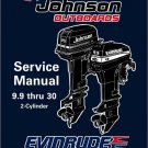 Evinrude / Johnson 9.9 10 15 20 25 28 30 HP Outboard Motors Service Manual CD