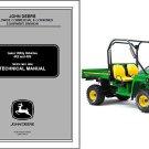 John Deere Gator Utility Vehicle 4X2 4X6 UTV Service Repair Manual CD