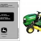 John Deere L100 L110 L120 L130 Lawn & Garden Tractor Service Repair Manual CD