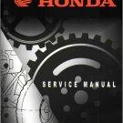 2004-2009 Honda TRX450R / TRX450ER Service Repair Shop Manual on a CD