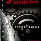 2005-2009 Honda TRX400EX / TRX400X Sportrax Service Repair Shop Manual on a CD