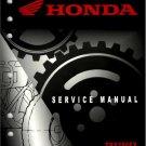 2006-2011 Honda TRX250EX /  TRX250X Sportrax Service Repair Shop Manual on a CD