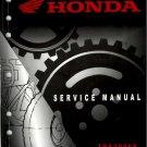 2007-2009 Honda TRX300EX /  TRX300X Sportrax Service Repair Shop Manual on a CD