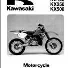 1988-2004 Kawasaki KX125 KX250 KX500 Service Repair Manual CD