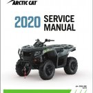 2020 Arctic Cat Alterra 570 / Alterra 700 ATV Service Repair Manual CD