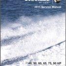 2011 Evinrude E-tec 40 50 60 65 75 90 HP Outboard Motor Service Repair Manual CD