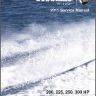 2011 Evinrude E-tec 200 225 250 300 V6 HP Outboard Motor Service Manual CD