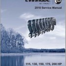 2010 Evinrude E-tec 115 130 150 175 200 HP Outboard Motor Service Manual CD