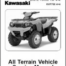2008-2011 Kawasaki Brute Force 750 4X4i / KVF750 4X4 Service Repair Manual CD