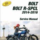 2014-2016 Yamaha Bolt 950 ( XV950 ) Service Repair Manual on a CD  -  XVS95CE(C)