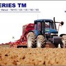 New Holland TM115 TM125 TM135 TM150 TM165 Tractor Service Repair Manual on a CD