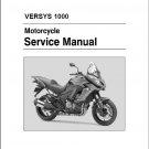 2015-2018 Kawasaki Versys 1000 Service Repair Manual on a CD