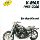 1985-2000 Yamaha V-Max 1200 ( VMAX - VMX1200 ) Service & Parts Manual on a CD
