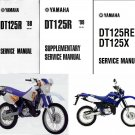 1988-2007 Yamaha DT125R / DT125X Service Repair Workshop Manual CD -- DT 125 R DT125