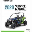 2020 Arctic Cat Wildcat Trail UTV Service Repair Manual on a CD
