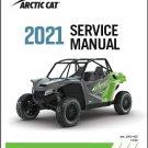 2021 Arctic Cat Wildcat XX UTV Service Repair Manual on a CD