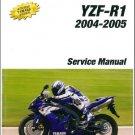 2004-2006 YAMAHA YZF-R1 Service Repair Manual on a CD