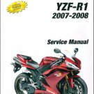 2007-2008 YAMAHA YZF-R1 Service Repair Manual on a CD