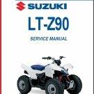 2007-2014 Suzuki LT-Z90 ( LTZ90 / Z90 ) QuadSport Service Repair Manual CD