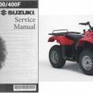 2002-2007 Suzuki LT-A400 / LT-A400F Eiger ( 2X4 - 4X4 ) Service Manual on a CD