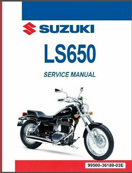 1986-2020 Suzuki LS650 Savage 650 ( Boulevard S40 ) Service Repair Manual on CD