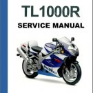 1998-2002 Suzuki TL1000R Repair Service & Parts Manual CD -- TL 1000R 1000 R