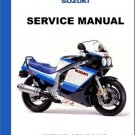 1989-1992 Suzuki GSX-R1100 Repair Service Manual CD    --   GSXR 1100