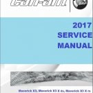 2017 Can-Am Maverick X3 Series Service Repair Shop Manual on a CD