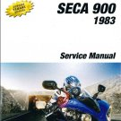 1983-1984 Yamaha XJ900 Seca 900 Service Repair Manual CD . .  XJ900RK