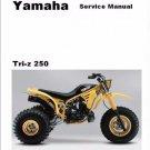 Yamaha YTZ250 Tri-Z Service Repair Manual on a CD  -- YTZ 250 250N N TriZ