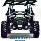 2020 Polaris RZR Pro XP / XP 4 Service Repair Manual on a CD