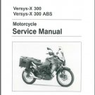 2017-2018 Kawasaki Versys-X 300 / ABS Service Repair Manual on a CD  -  VersysX