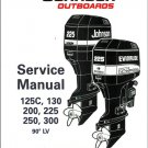 Johnson / Evinrude 125C 130 200 225 250 300 Outboard Service Repair Manual CD