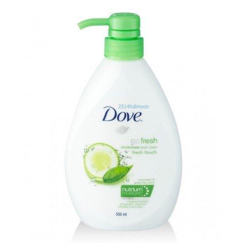 "550 ml. Dove Nourishing Go Fresh "" Fresh Touch"" Nourishing Body Wash"