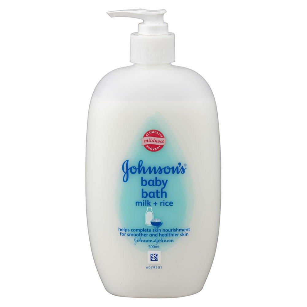 500 ml. Johnson's Baby Milk Rice Shower Bath Cream