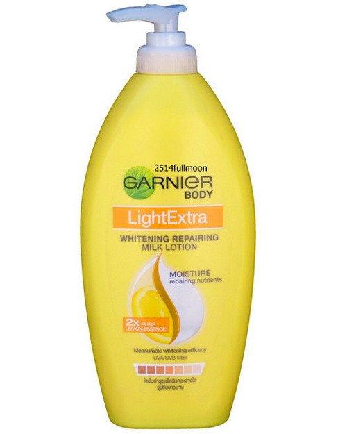 400 ml. Garnier Light Extra Whitening Repairing Milk Body Lotion