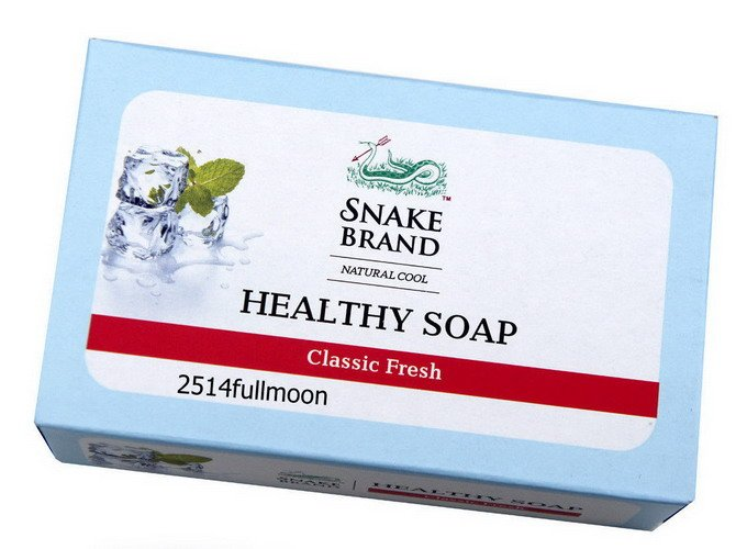 3x 100 g. Snake Brand Natural Cool Healthy Soap Aroma Lavender