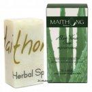 100 g. Maithong Natural Herbal Soap Bar Face And Body Wash Aloe Vera Herbal Soap