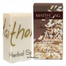 100 g. Maithong Natural Herbal Soap Bar Face And Body Wash Jasmine Rice Herbal Soap