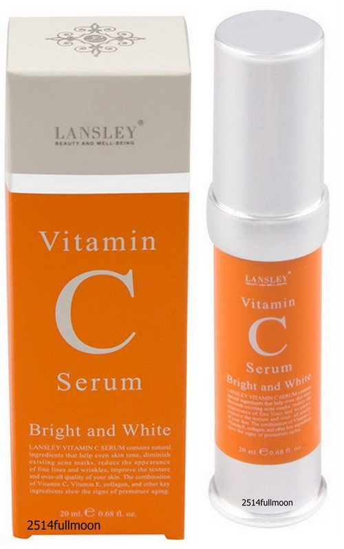 20 ml. BEAUTY BUFFET Lansley Vitamin C Serum Bright and White Facial Care