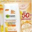 30 ml. Garnier Sun Facial UV Complete Whitening Protect Daily Sun SPF 50 PA++++ BEIGE Color